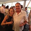 Clare with Greg Ingham at Ellerslie Races...