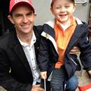 Dwayne Dunn and Lachlan Hawkes at the Melbourne Cup Parade