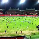 Skoda Stadium after the game...
