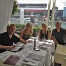 Wayne, Jane, Clare and Michael in Auckland at Euro for lunch ahead of the Ready To Run 2yo sales